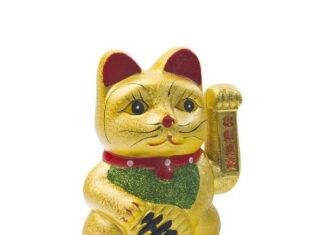 Uroczy kotek Maneki Neko